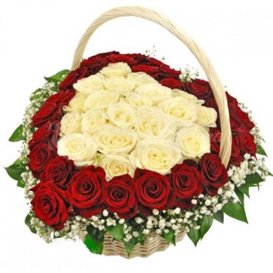 Корзина цветов «На крыльях мечты»