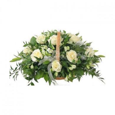 Корзина цветов «Ветерок»